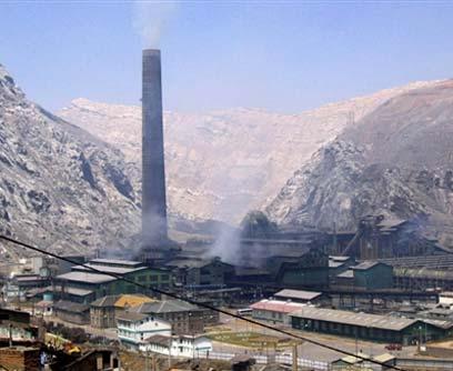 Minas de plomo en Perú