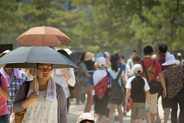 verano caluroso japonés