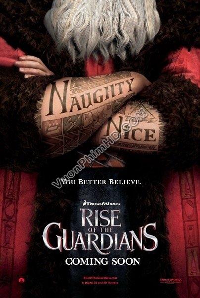 Phim Sự Trỗi Dậy Của Những Vị Thần - Rise Of The Guardians