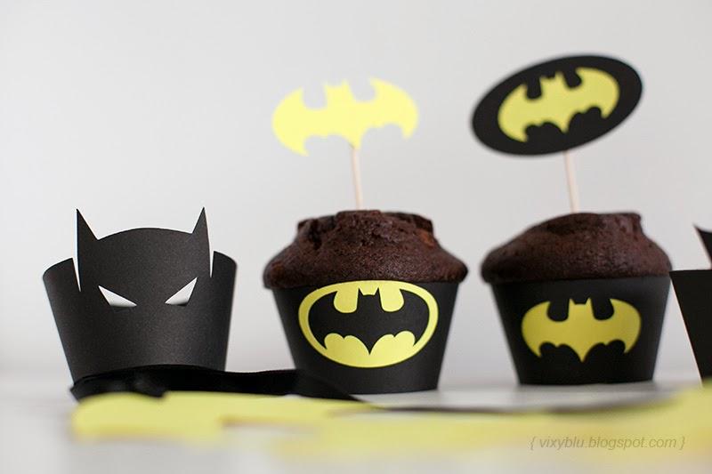 cupcake batman, petreceri personalizate