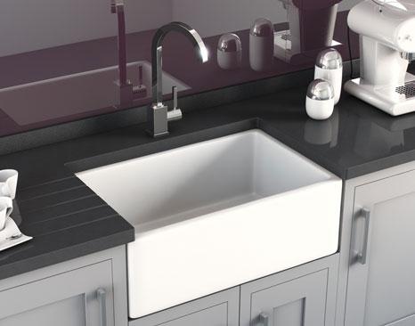 Plum kitchen wishful wednesday the beginning of an for Odd size kitchen sinks