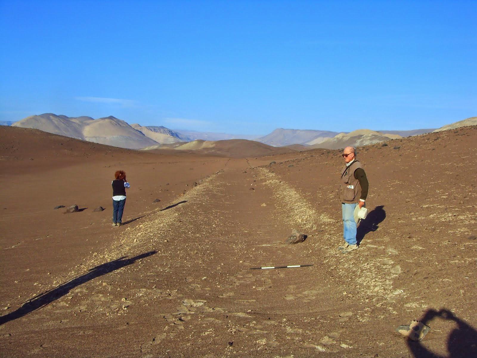 Acercándonos al pueblo de Suca en la región de Tarapacá