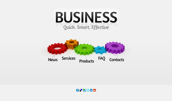 free html5 css3 html5 template business project