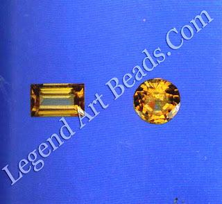 Crystals of grossular garnet
