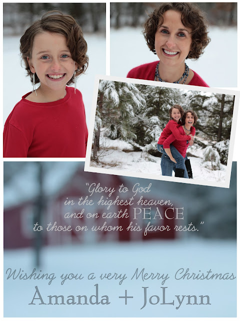 Christmas Card by Amy Kastenbauer 2012