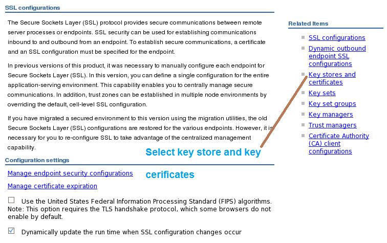 Middleware Technologies Configuration Ssl Websphere Between Nodes