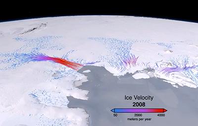 NASA Spots 'Unstoppable' Antarctic Ice Sheet Melt