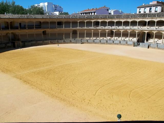 Plaza de Toros bullring on Semi-Charmed Kind of Life