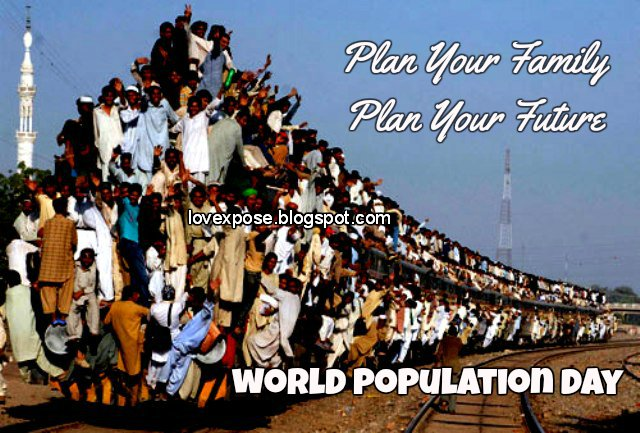 World Population Day facebook whatsapp pics