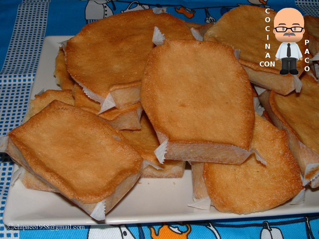 Cocina con paco sobaos pasiegos de mantequilla - Cocina con paco ...