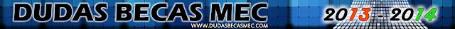 Dudas Becas MEC