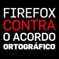 Firefox contra o Acordo Ortográfico