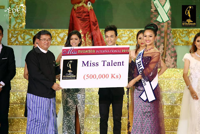 Photos : Who is a winner of Miss Myanmar International 2015