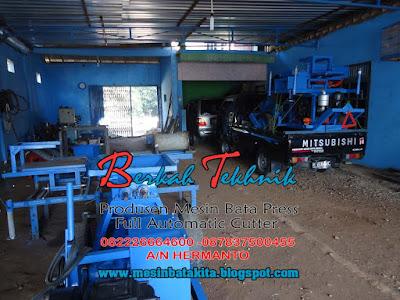 Mesin Bata Merah Press Otomatis - Berkah Tekhnik