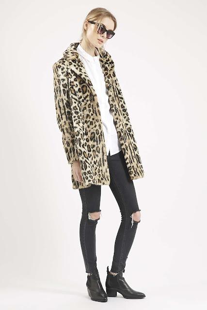 topshop leopard coat, leopard print coat,