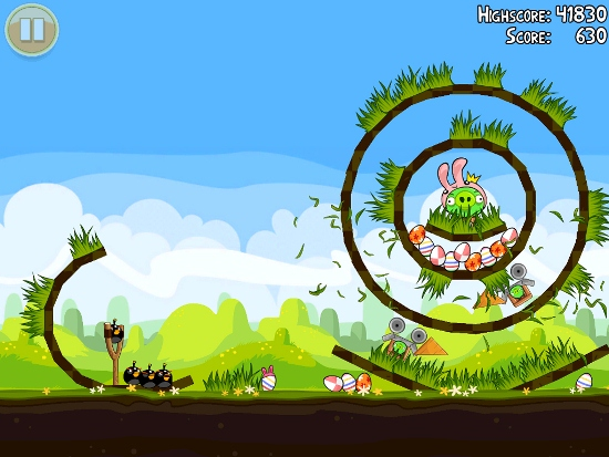 Screenshoot, Link MediaFire, Download Angry Birds Seasons 2.3 Full Version With Crack Patch | Mediafire