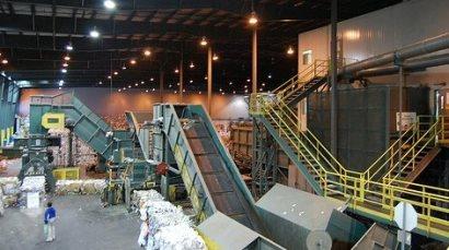 Gestión de Residuos - Planta clasificadora