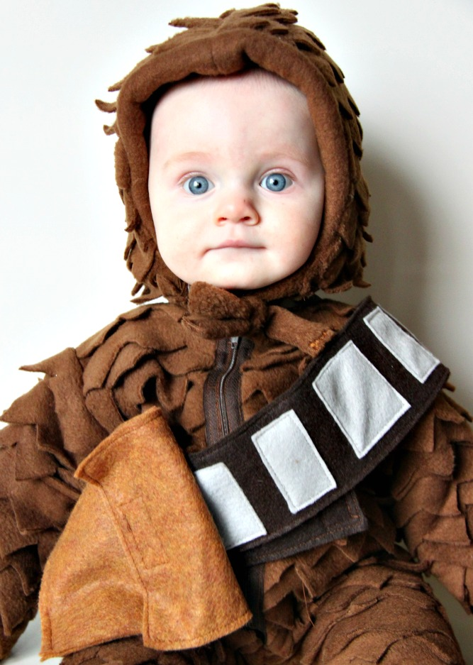 Larissa Another Day Baby Chewbacca Costume