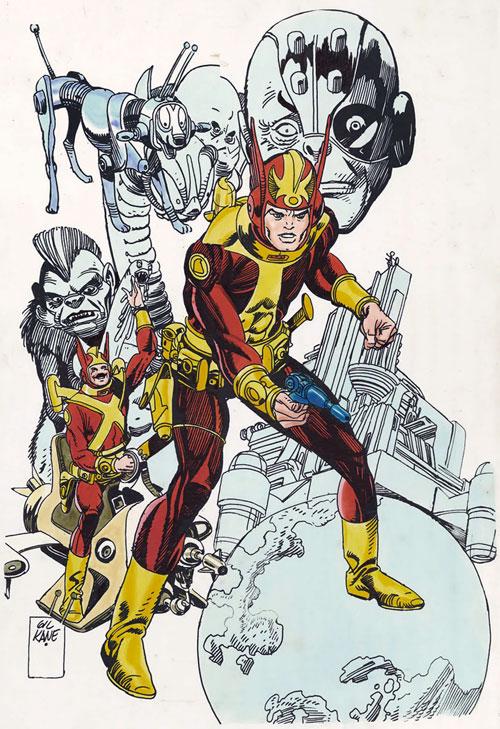 space1970: Goulart & Kane's STAR HAWKS (