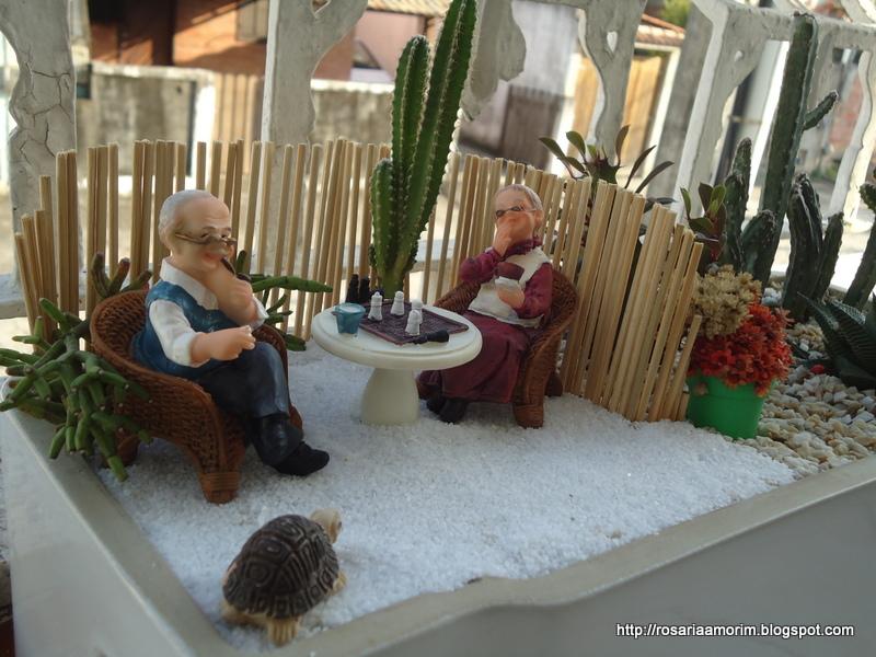 decorar meu jardim:ROSARIA AMORIM: MEU MINI JARDIM