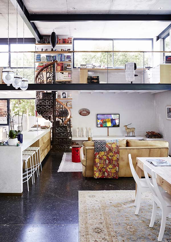 decordemon industrial style house in cape town