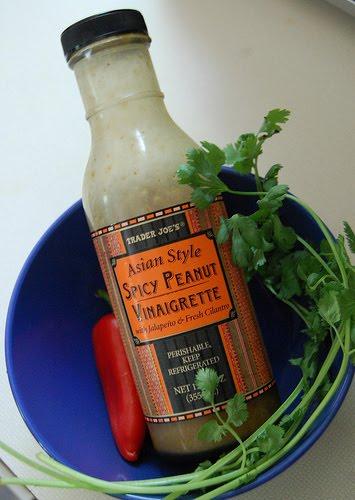 ... Karen: Easy Thai Coleslaw with Trader Joe's Spicy Peanut Vinaigrette