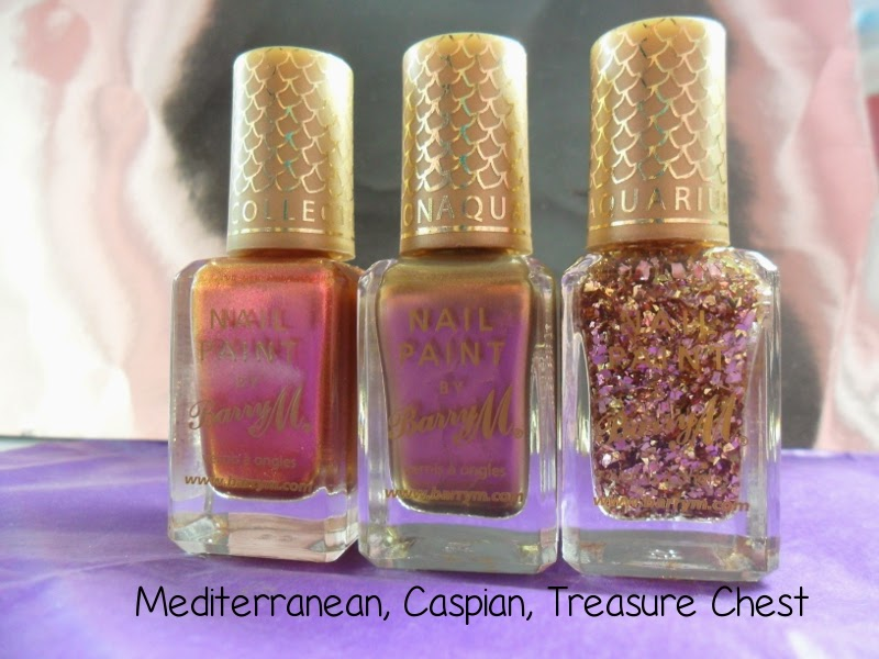 Barry M Mediterranean, Caspian, Treasure Chest