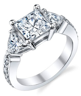 Affordable Cubic Zirconia Engagement Rings Sets