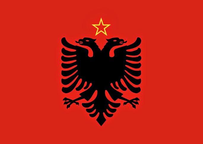 Flag of Albania (1946-1992)
