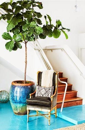 Colourful interiors/lulu klein
