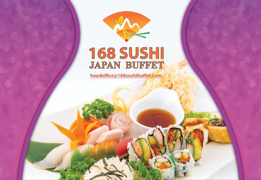 All eric can eat 168 sushi asian buffet ottawa on for Asian 168 cuisine menu