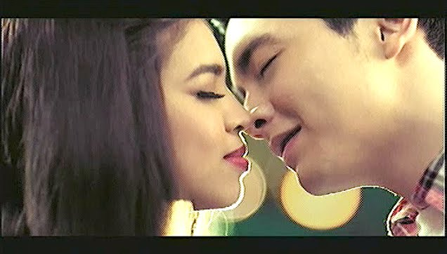 ALDUB almost kissed in this Coke TVC