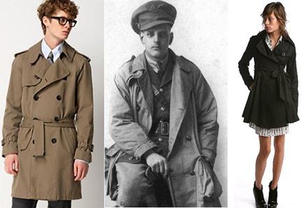 Trench Coat virou moda e sinônimo de estilo