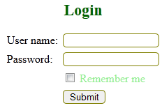 validate remember me concept in login form using php