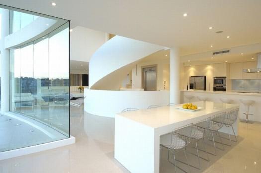 X casas decoracion x dise o de casa de playa de lujo en - Casas minimalistas por dentro ...