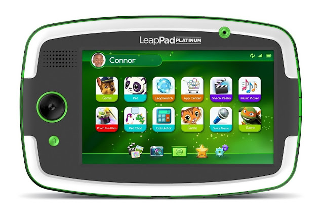LeapPad Platinum green