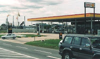 Shell Petrol Station in Brunei