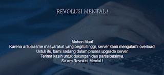 Baru Diluncurkan, Situs Revolusi Mental Tuai Kritikan