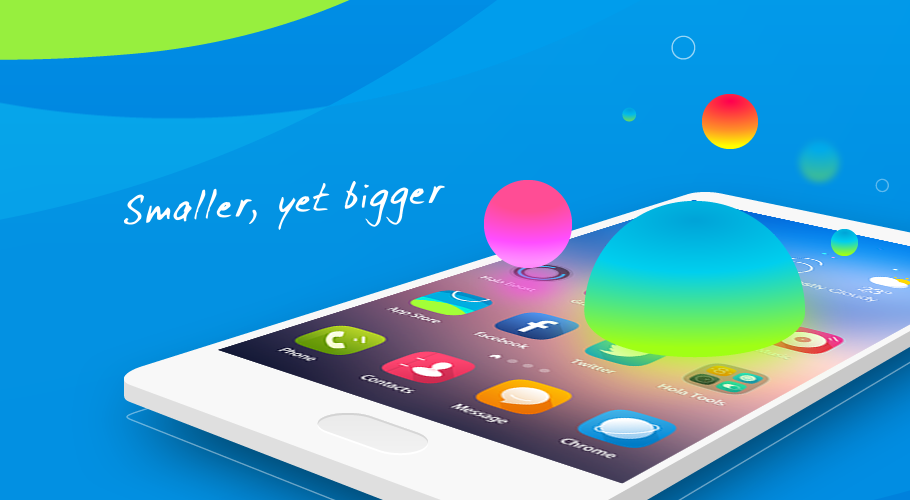 Hola Launcher - Simple & Fast
