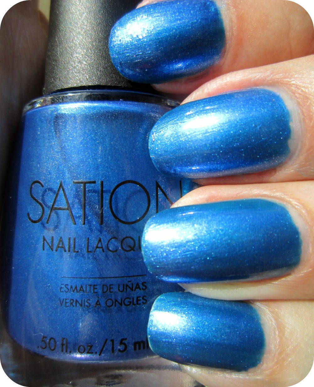 Sation Nail Polish: Concrete And Nail Polish: Sation Silver Frost & Suede Shoes