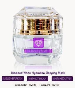 Diamond White Sleeping Mask