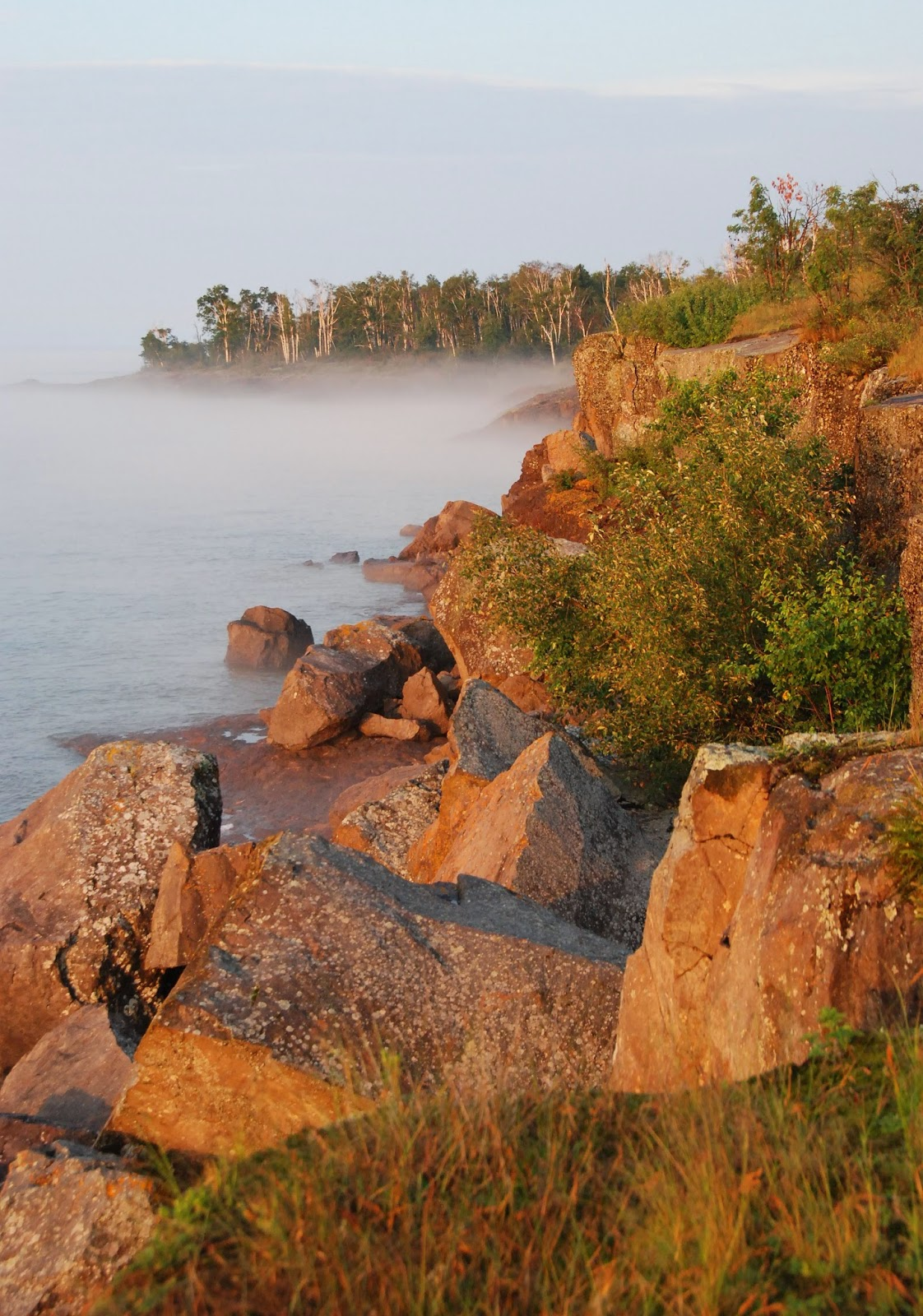 lake superior, gooseberry falls state park