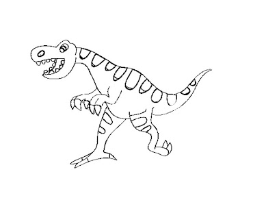 #5 Jurassic Park Coloring Page