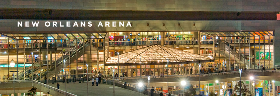New Orleans Hornets Arena New Orleans Arena