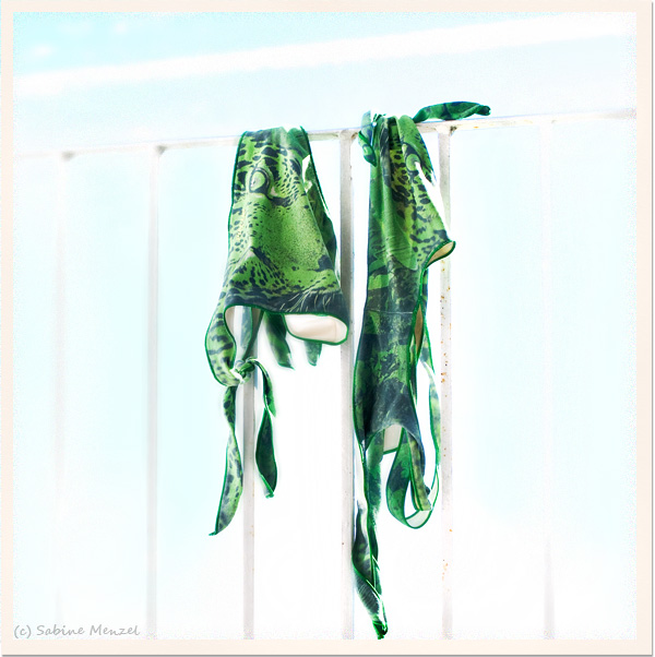 Psynopsis Pin-Up Green Leopard Bikini