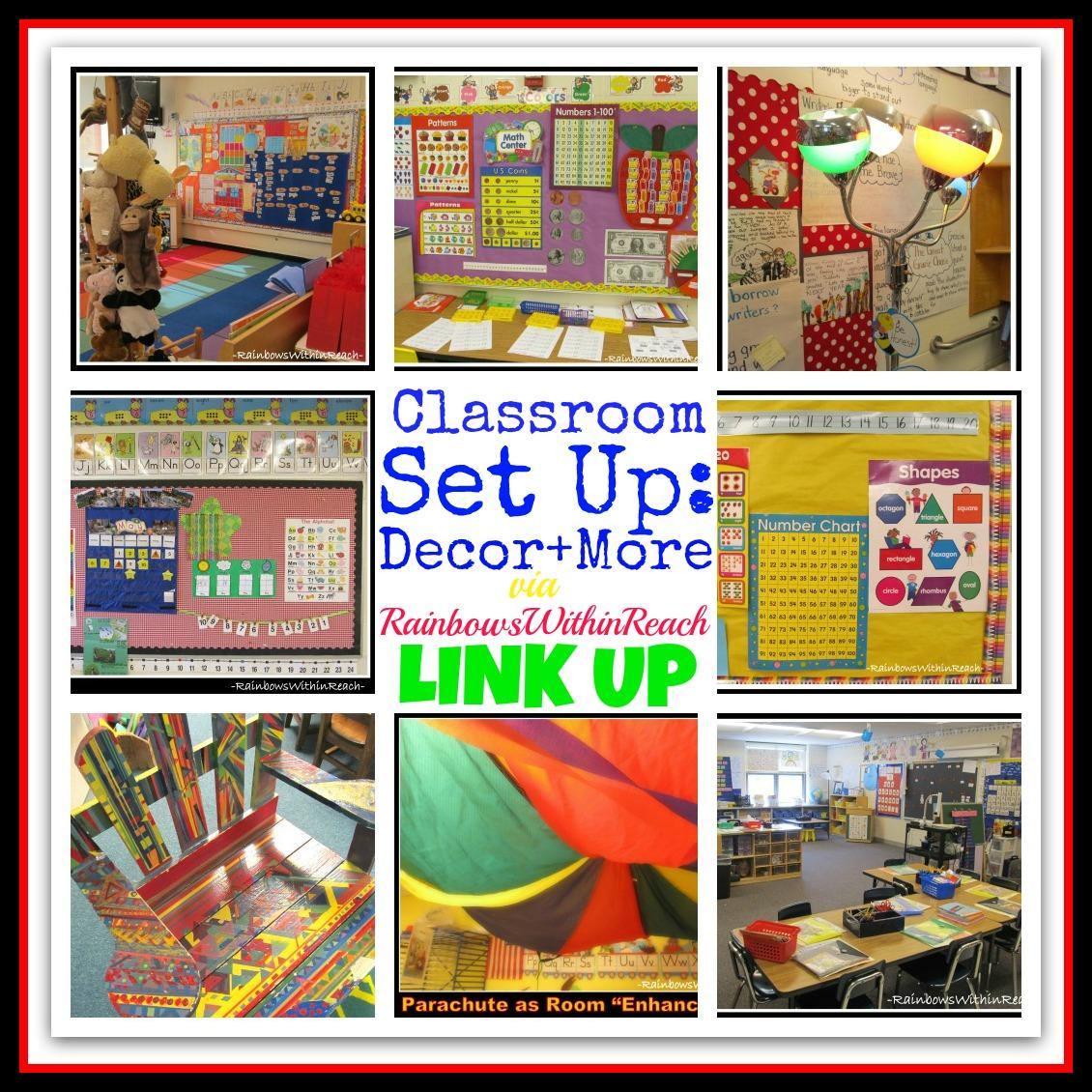 Up Classroom Decor ~ Rainbowswithinreach spot