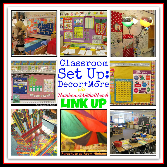 photo of: Classroom Decor and More: Letters from Home (LinkUP via RainbowsWIthinReach) 