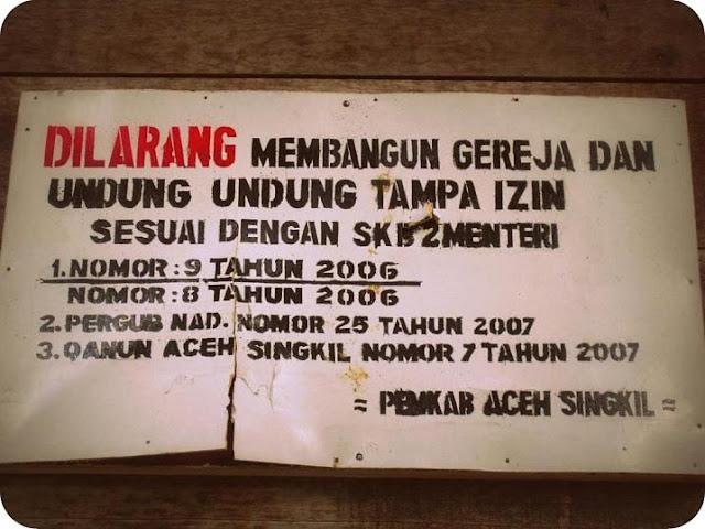 Kehadiran Negara Dipertanyakan atas Maraknya Diskriminasi Agama di Indonesia Barat