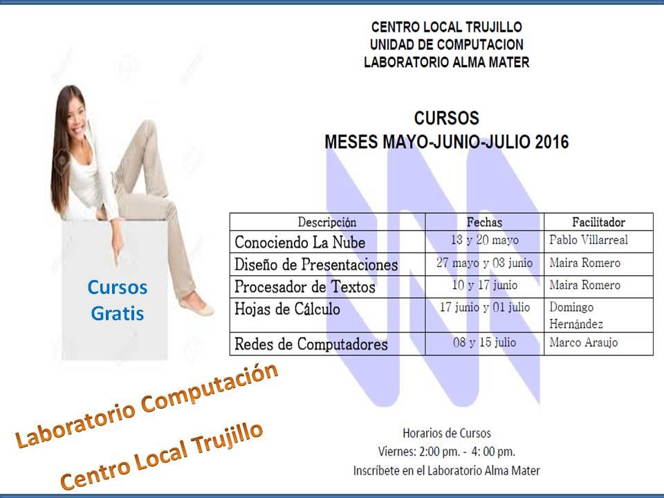 Cursos Gratis - CL Trujillo