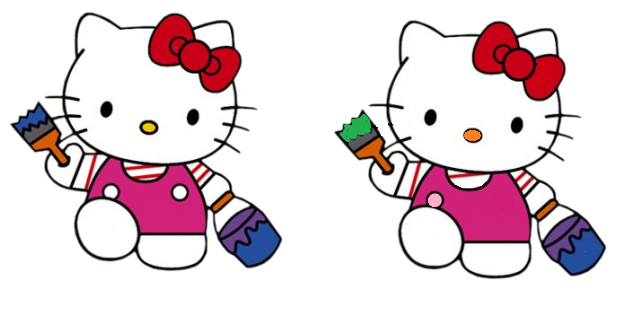 A jugar con Hello Kitty  Locos por Hello Kitty